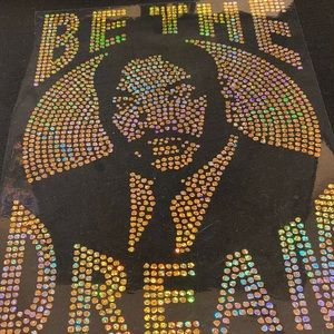 Martin Luther king t shirt (black history )